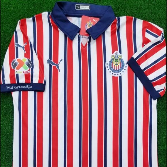 21e9edd4a 2018 Chivas Guadalajara soccer jersey Puma